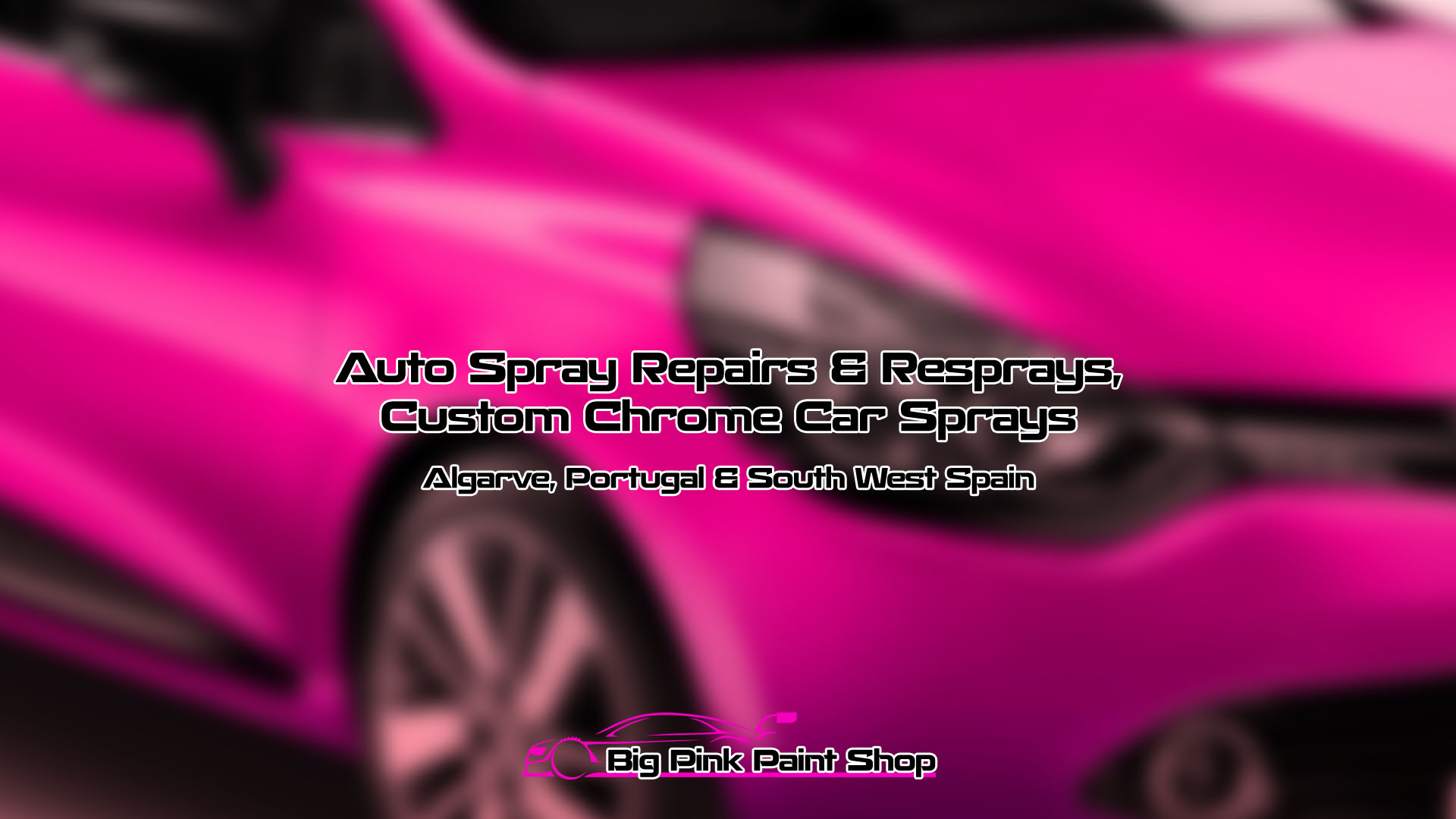 The Big Pink Paint Shop, Tavira  Car Resprays & Light Auto