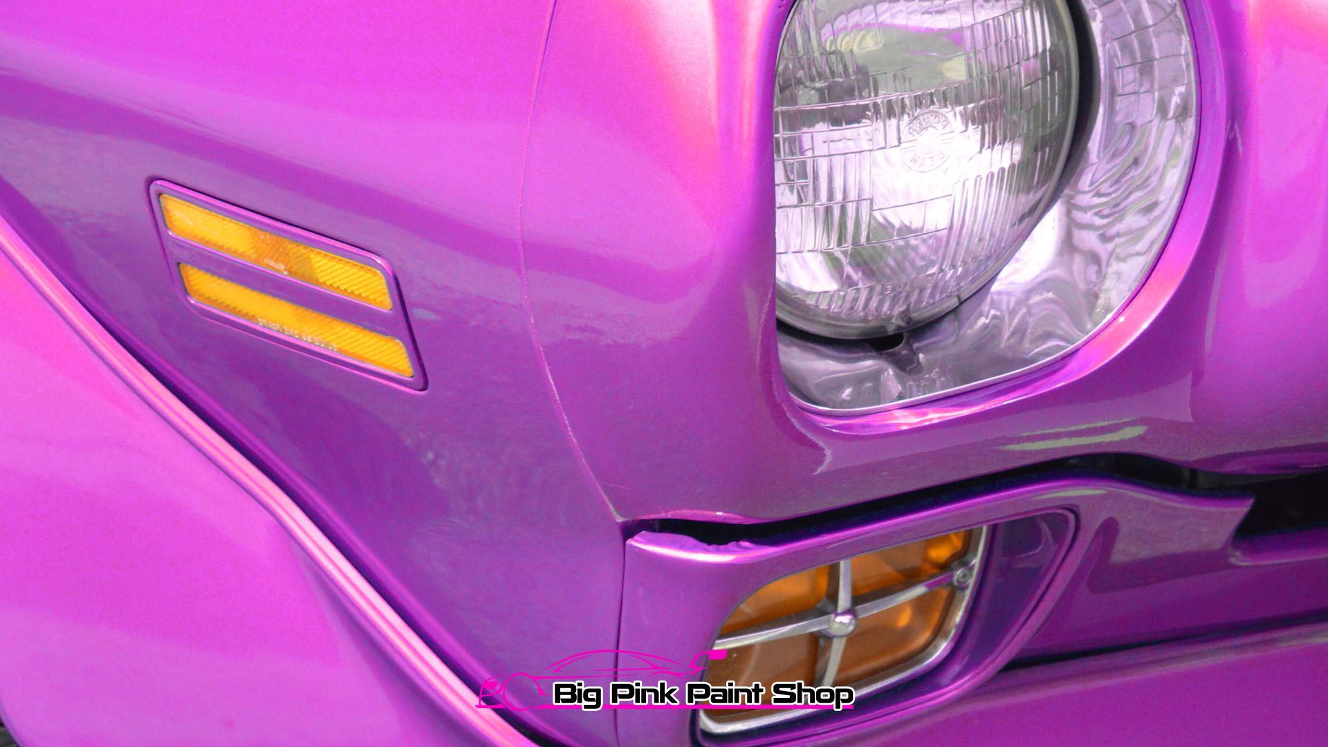 Scratch Repairs Algarve Portugal - The Big Pink Paint Shop Vehicle Scratch Repairs